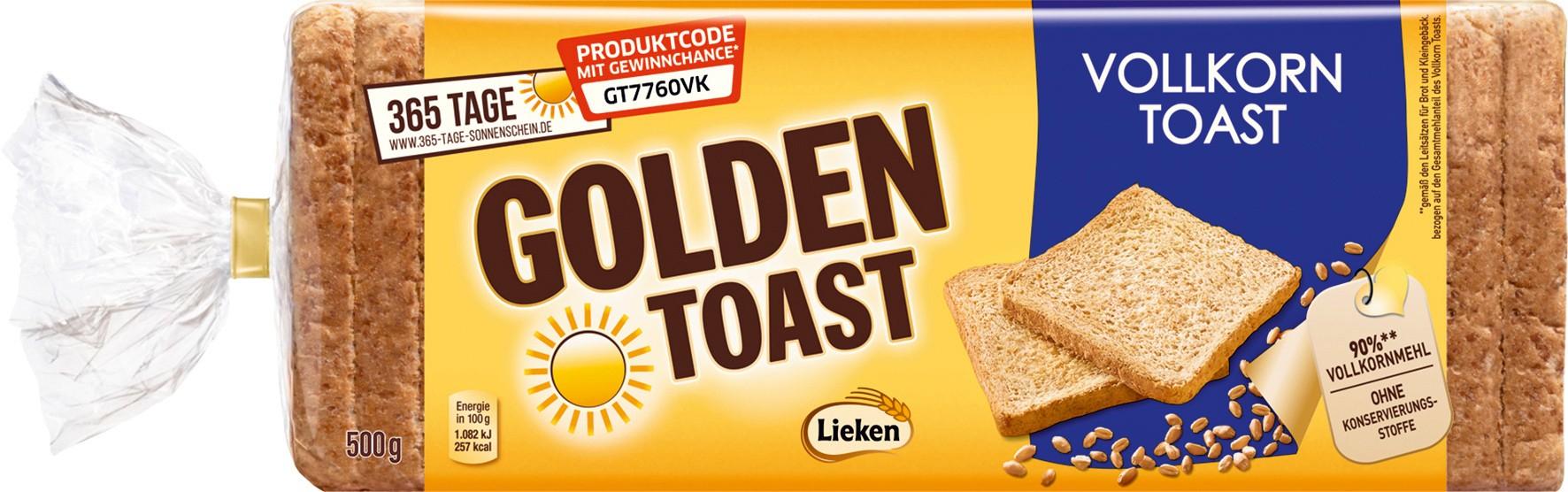 [Globus Wiesental] Golden Toast, verschiedene Sorten, 500g, für 47 Cent