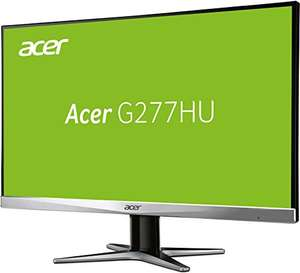 Amazon Blitzangebot: 27 Zoll Monitor Acer G277HUsmidp, WQHD 2560x1440 Pixel, 60 Hz, Panel: TN non-glare, DVI, HDMI, Displayport, 1ms Reaktionszeit, Lautsprecher