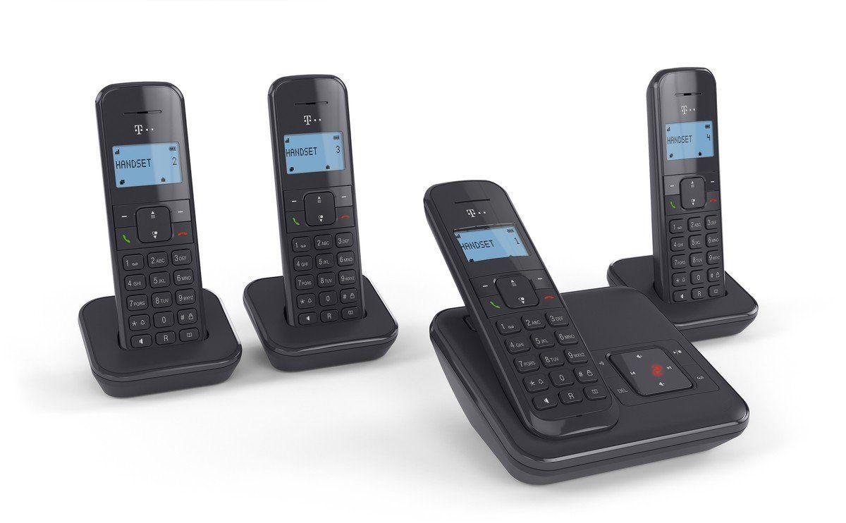 [Lokal REWE CENTER Hamburg Wandsbek] Telekom Sinus CA34 Quatro Schnurlostelefon mit Anrufbeantworter (DECT)