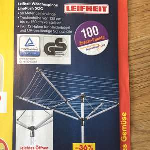 [Netto] Leifheit Linopush 500 / Idealo: 55,95€