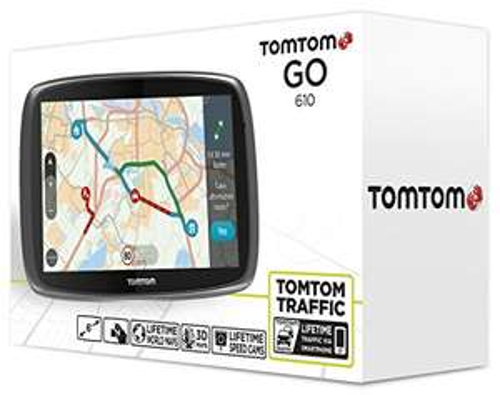 """TomTom Go 610 World - 6"""" Navi mit weltweiten Karten und Radarkameras (Lifetime Update)"""