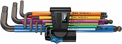 [Amazon Prime] Wera 950 SPKL/9 SM HF Multicolour Winkelschlüsselsatz, metrisch, BlackLaser mit Haltefunktion, 9 Stück, 05022210001, PVG: 33,99€ @Alternate,