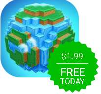 iPhone Giveaway of the Day - World of Cubes Survival Craft
