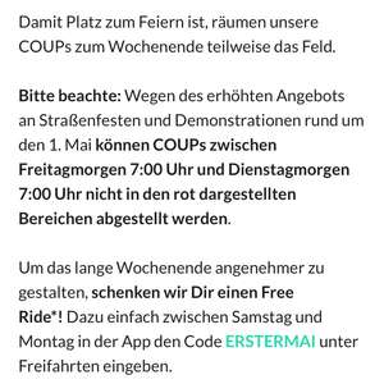 [Lokal Berlin] Freifahrt Coup