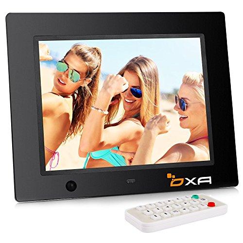 OXA 8-Zoll - Digitaler Bilderrahmen mit Eingebautem Speicher- und Bewegungssensor