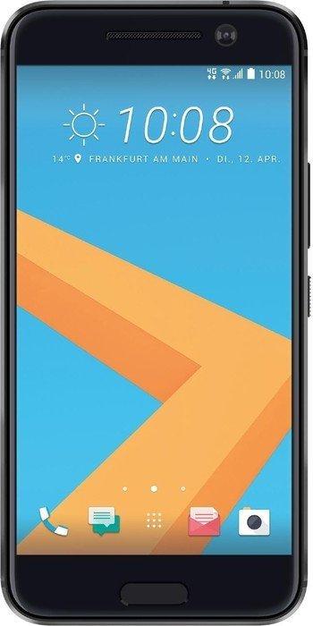 HTC 10 LTE (5,2'' QHD SLCD, Snapdragon 820 Quadcore, 4GB RAM, 32GB eMMC, 12MP + 5MP Kamera, IP53, 3000mAh mit Quick Charge, Android 7) für 379€ versandkostenfrei [Mediamarkt]