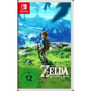 The Legend Of Zelda: Breath Of The Wild (Nintendo Switch) für 52,99€ (Müller + Amazon)