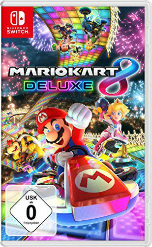 Mario Kart 8 Deluxe mit Prime für 52,99 Euro