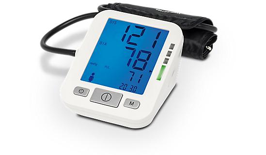MEDION MD 15469 Vollautomatisches Blutdruckmessgerät mit Sprachausgabe und Speicher für 2 x 60 Messwerte für 17,95€ [Medion]