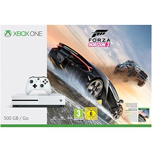 Xbox One S + Forza Horizon 3 für 205,34€ [Amazon.fr]