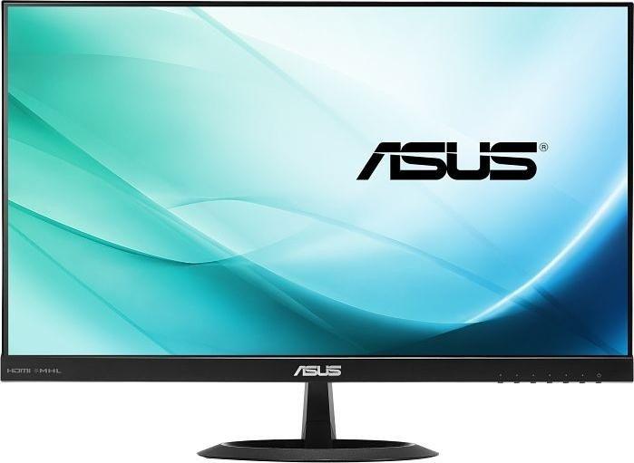 ASUS VX24AH Monitor (24'' WQHD IPS, 300cd/m², 1000:1, 5ms, 2x HDMI + VGA, 100% sRGB, integr. Lautspecher, EEK A)