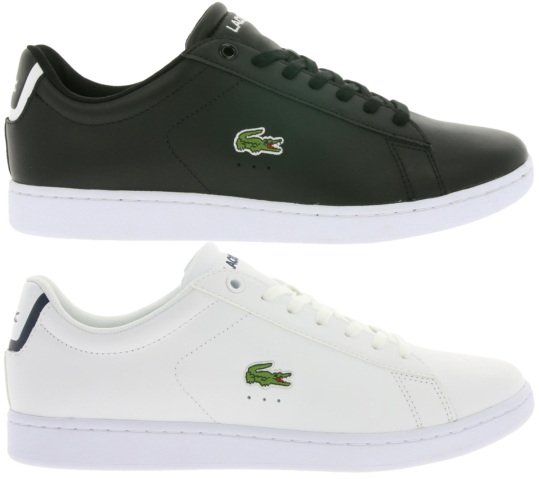[Outlet46] Lacoste Carnaby Evo BL 1 Herren Sneaker s/w, bis Größe 46