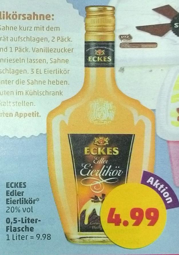 [Penny + Coupies] KW 18: Eckes Edler Eierlikör 0,5 Liter für 3,49 €