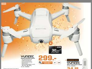 Yuneec Breeze 4k für 299,- € + 30,-€ Saturn Coupon