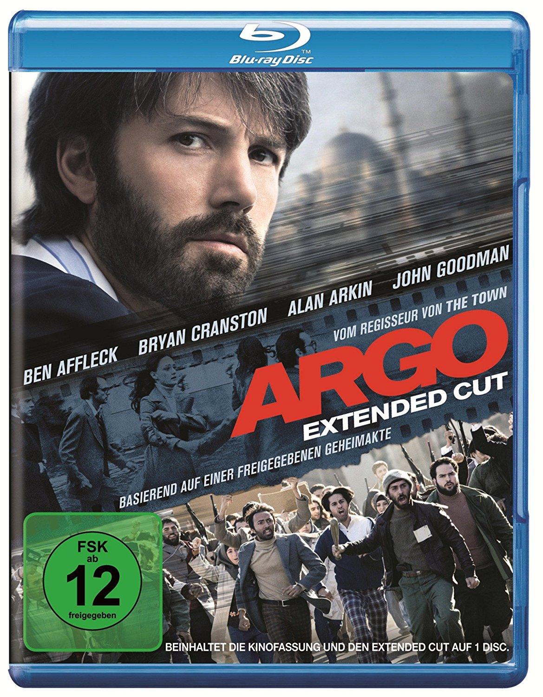 Argo (Extended Cut) für 4,45€, Watchmen für 5,99€ u.a. Blurays reduziert [Amazon Prime]