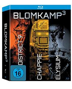 Blomkamp³ Digibook Edition: Chappie + District 9 + Elysium (inkl. 64seitigem Booklet) (Bluray) für 11,97€ [Amazon Prime]