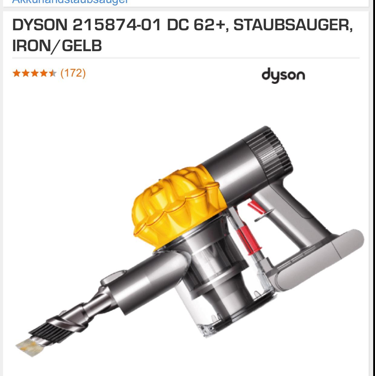 Abgelaufen!! Dyson DC 62+ (V6 Motor) Staubsauger Saturn online