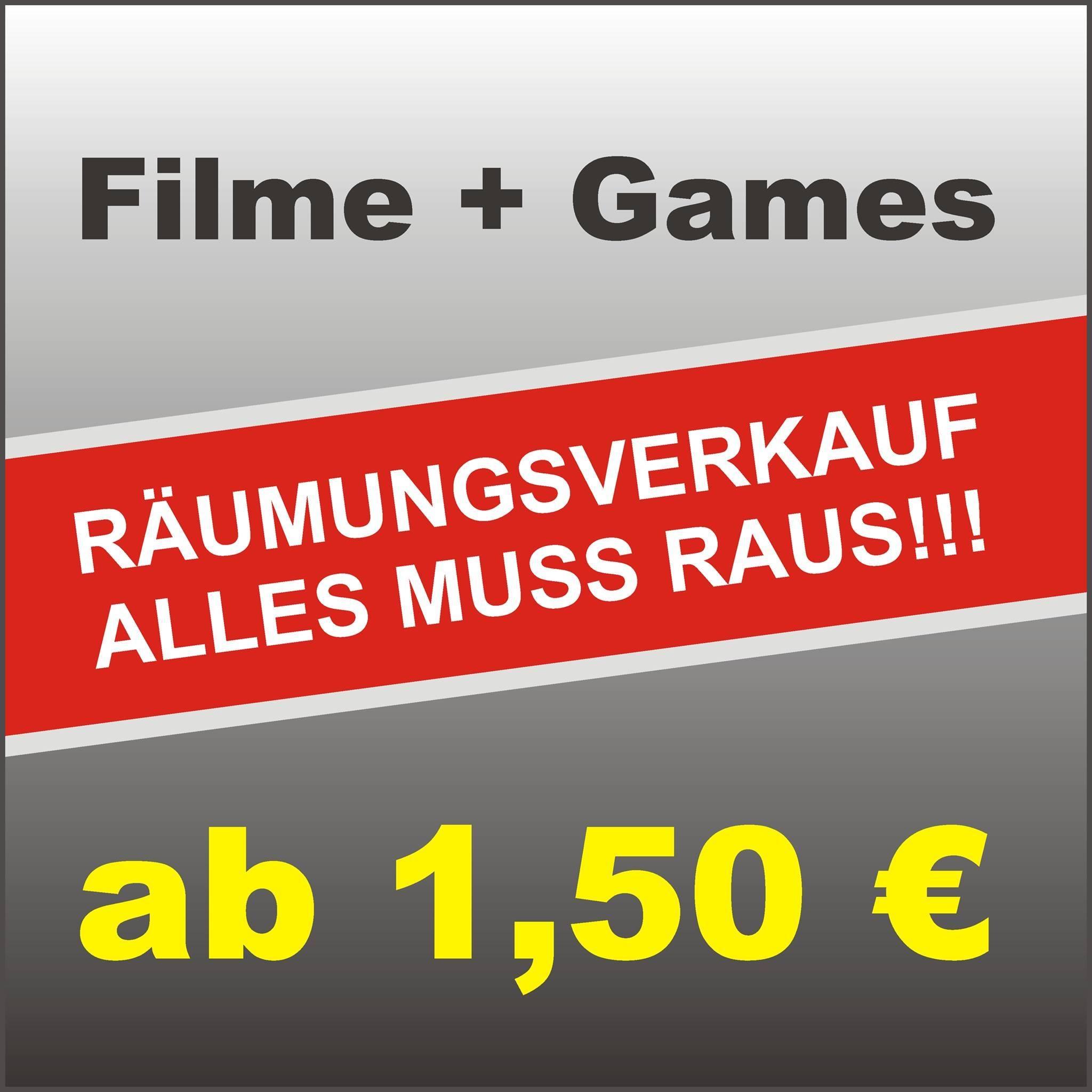Räumungsverkauf VIDEO WORLD Breitscheidstrasse 78 in  01237 Dresden