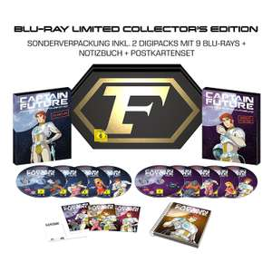 (AMAZON) Captain Future Komplettbox BD (Limited Collector's Edition)