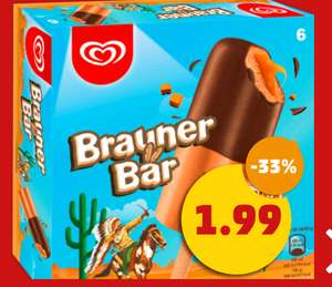 [Penny] Brauner Bär, Cornetto, Nogger, Flutsch Finger, Cuja Mara Split (6er Packs), auch Smarties Pop Up, Pirulo je 1,99€