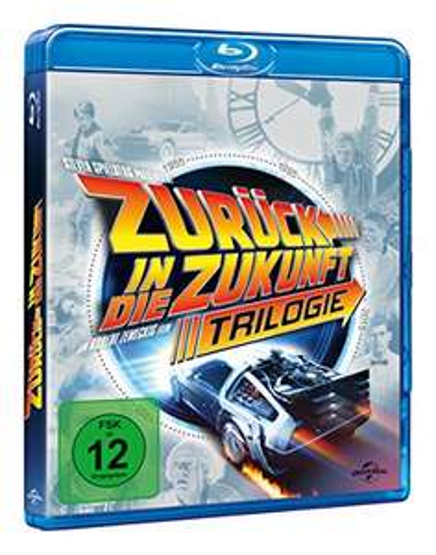 Zurück in die Zukunft - Trilogie (30th Anniversary Edition, 4 Discs) [Blu-ray] [Amazon Prime]