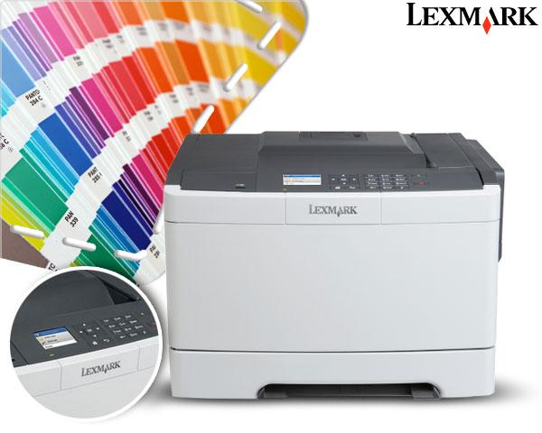 Kompakter Farblaserducker Lexmark CS410n nächster Preis bei idealo: 149 €