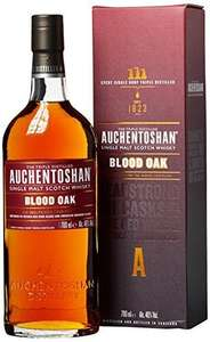 [Lokal] Travel Free -CZ- AUCHENTOSHAN BLOOD OAK 46% 0.7L -Single Malt Whisky - uvm