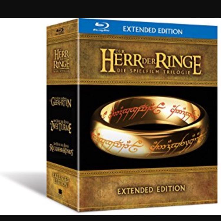Herr der Ringe Blu-Ray Extended bei Amazon
