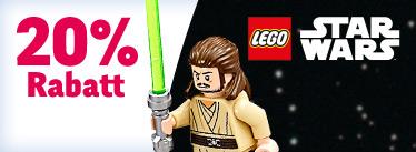 [Toysrus] 20% Rabatt auf Lego Star Wars ab 30€ bis 07.05.