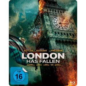 London Has Fallen (exklusives Müller Steelbook) (Blu-ray) für 12,99€ (bzw. 11,70€) (Müller)