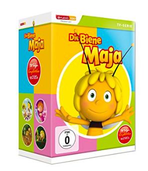 Die Biene Maja - Komplettbox mit 12 DVDs für 29,97€ mit [Amazon]