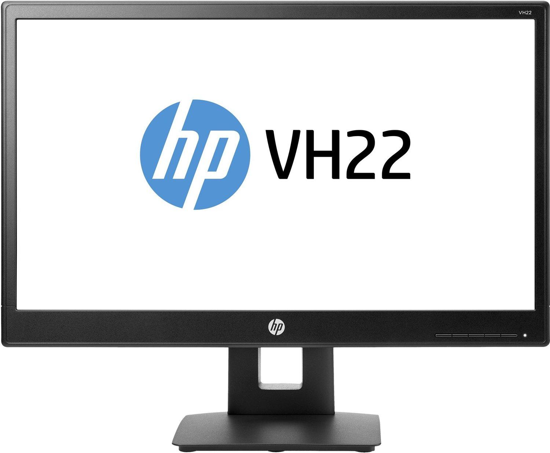 Notebooksbilliger Angebot: Office Monitor HP VH22, 21,5 Zoll, Panel: TN, White-LED, Full-HD 1920x1080, 5ms, matt, Höhenverstellung, Pivot, DisplayPort
