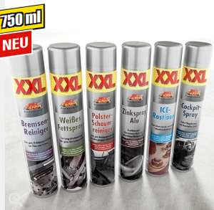 [Norma ab 3.5] verschiedene Sprays zb. weißes Fettspray, Zinkspray 750ml statt 400ml
