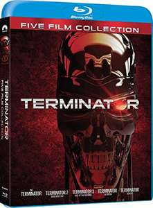 Terminator Collection (5x Blu-Ray) (OT) für 13,59€ (Amzon.it)
