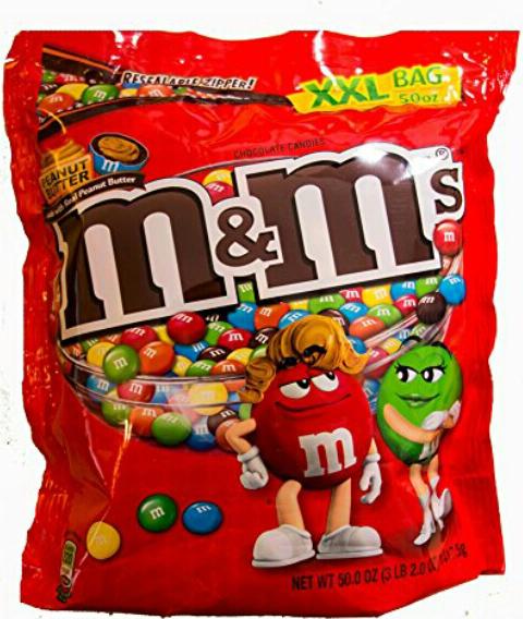 [Amazon Blitzdeal] M&Ms Peanut Butter 1.4Kg Beutel