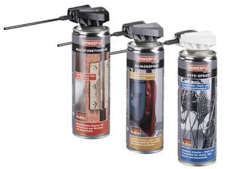[Lidl] Multifunktionsöl / Silikon-Spray / PTFE-Spray (ab 08.05.17)