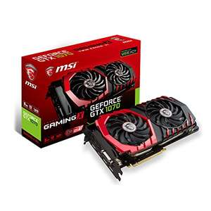 MSI Geforce GTX 1070 Gaming X 8G für 399,99€ + For Honor / Ghost Recon und 40€ Cashback [Amazon.fr]