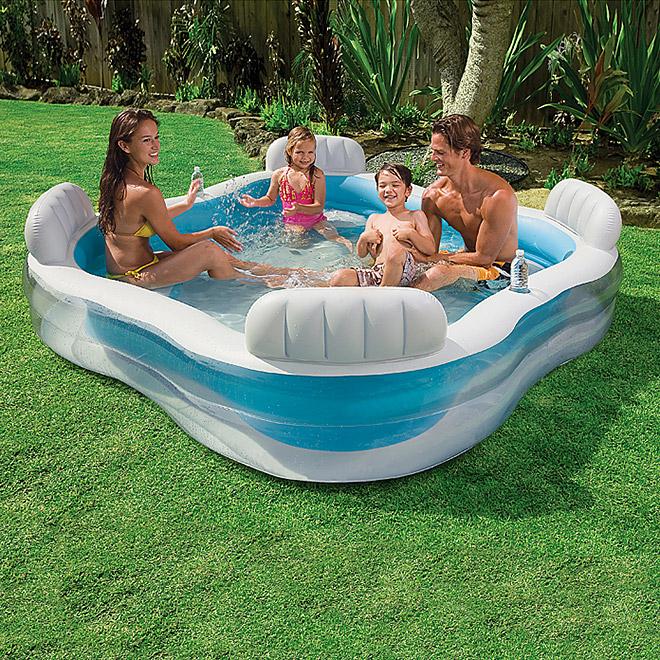 [ Action / Bauhaus ] Intex Lounge Pool für 19,99€ / mit Bauhaus TPG 17,56€