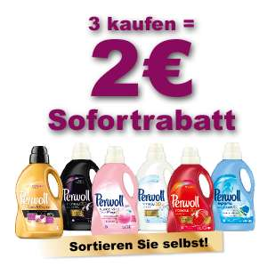 Perwoll Feinwaschmittel für 1,91€ bei Rossmann