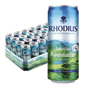 Rhodius Mineralwasser, 24er Pack (24 x 330 ml) 9.99 €  @Amazon