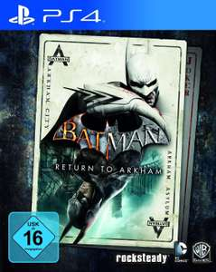 [PSN STORE] PS4 Batman Return to Arkham für 19,99