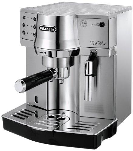 [Amazon] DeLonghi EC 860.M Espresso-Siebträgermaschine (1450 Watt) silber