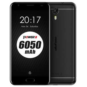 Ulefone Power 2 im Flash Sale // 6050 mAh Akku // 4GB Ram // 64 GB ROM // MTK6750T Octa Core 1.5GHz // Android 7.0