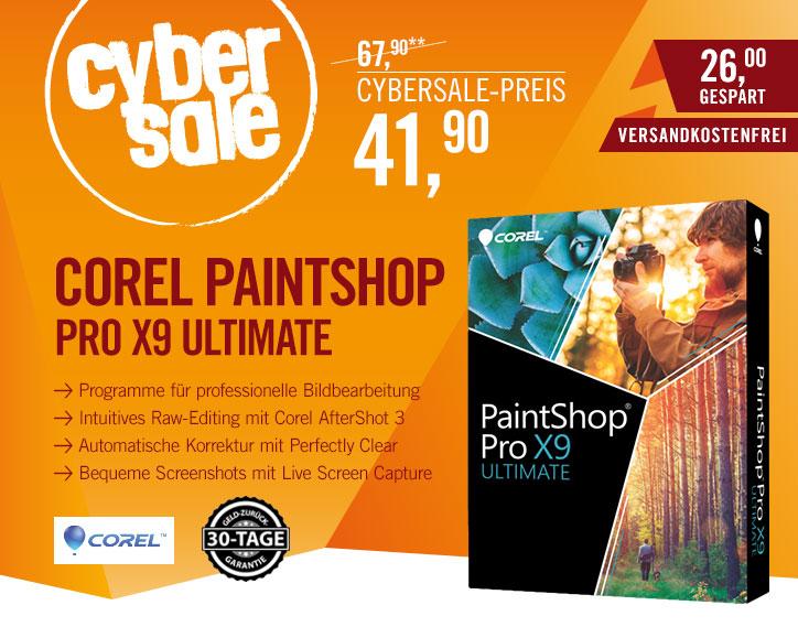 Corel PaintShop Pro X9 Ultimate Box - Grafik Suite