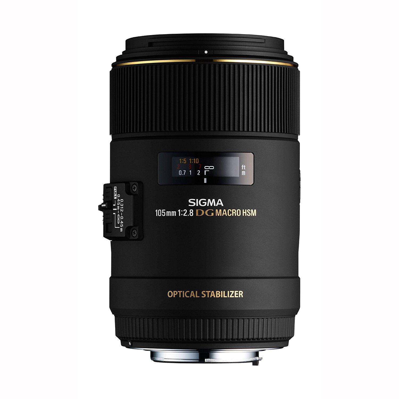 [WHD Amazon UK] Sigma 105mm F2.8 EX DG OS HSM Objektiv Makro für Canon 249€ statt 389 UVP 899