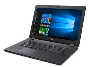 [Comtech] 17,3 Zoll Windows 10 Office Notebook/Laptop Acer Aspire ES1-731-C7WT - schwarz