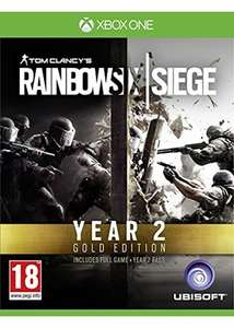 Tom Clancy's Rainbow Six Siege: Year 2 Gold Edition (Xbox One) für 17,63€ inkl. VSK (Base.com