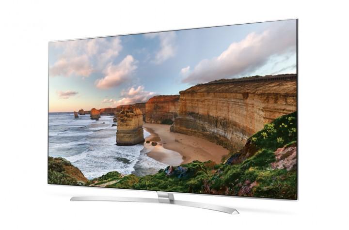 [Comtech] LG 65UH8507 (8509, 850V identisch bis auf Farbe) 65 Zoll 3D UHD Dolby Vision HDR10 Triple Tuner Smart TV A+ [120 Hz] Flat LED Fernseher - weiß