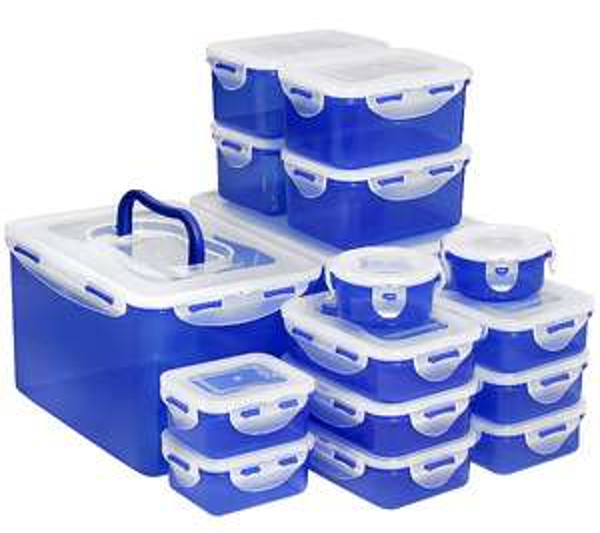 LOCK&LOCK Frischhaltedosen luft- & aromadicht 100ml-4,5l -> 16 Dosen (verschiedene Farben) ggf. + 12 Dosen gratis für den Hamster!