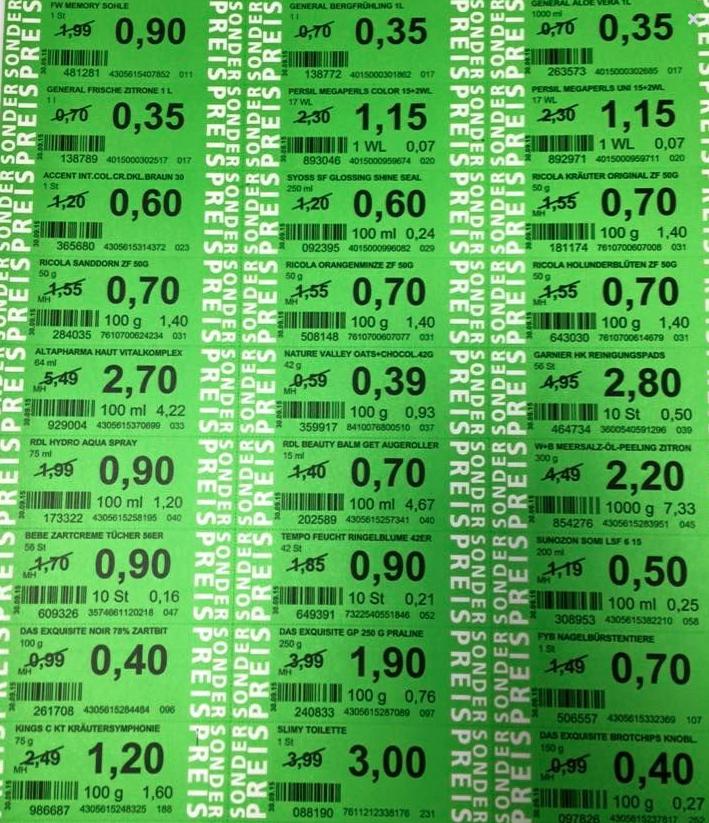 Green Label Preise ab 03.05.2017 (ROSSMANN)